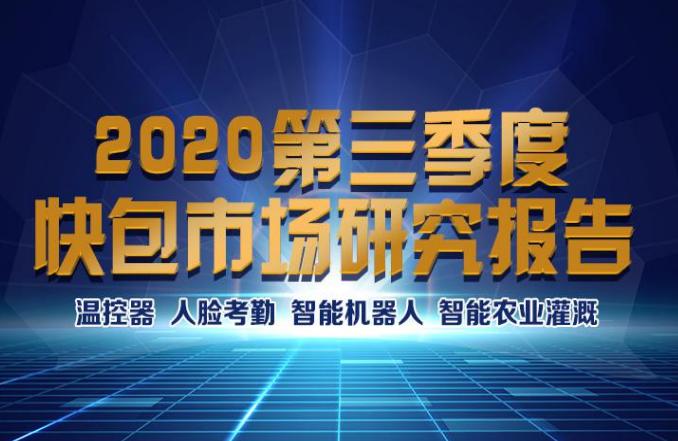 2020年第三季度快包市场研究报告完整版(可下载)