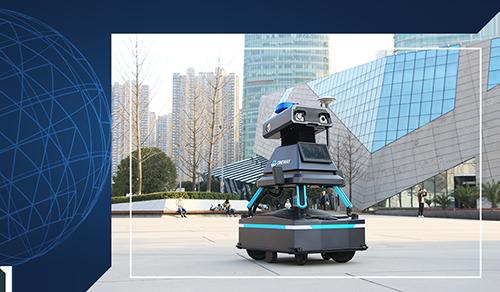 万为机器人为智能安防工作保驾护航