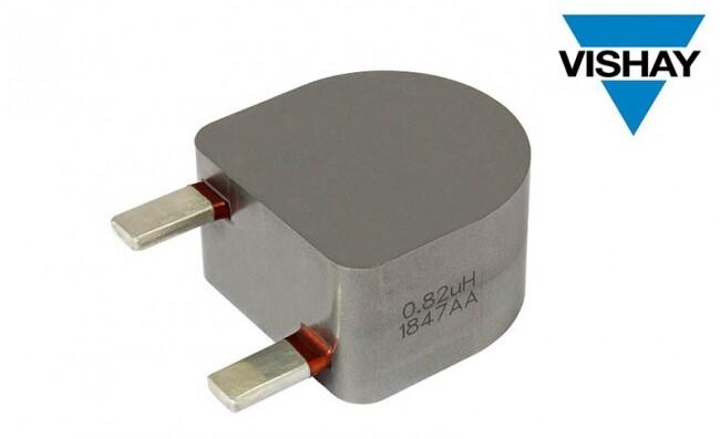 Vishay推出适用于再生能源、工业和通信应用的新型通孔电感器