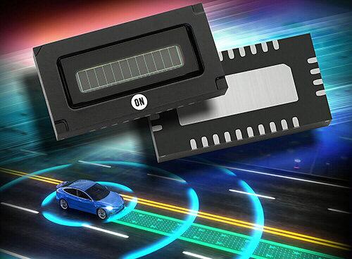 安森美发布车规硅光电倍增管(SiPM)阵列产品,用于激光雷达应用