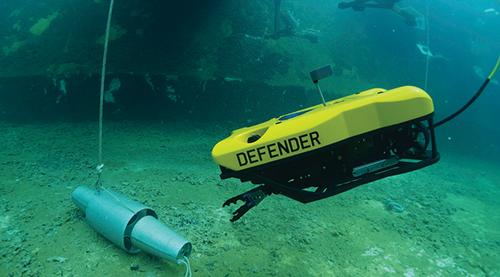 VideoRay水下机器人为港口及水道保驾护航