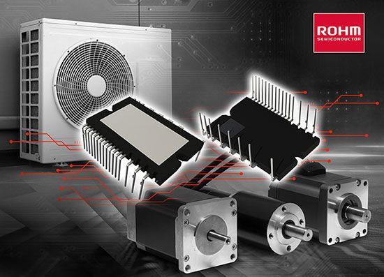 """ROHM开发600V耐压IGBTIPM""""BM6437x系列"""" 兼具出色降噪和低损耗特性"""