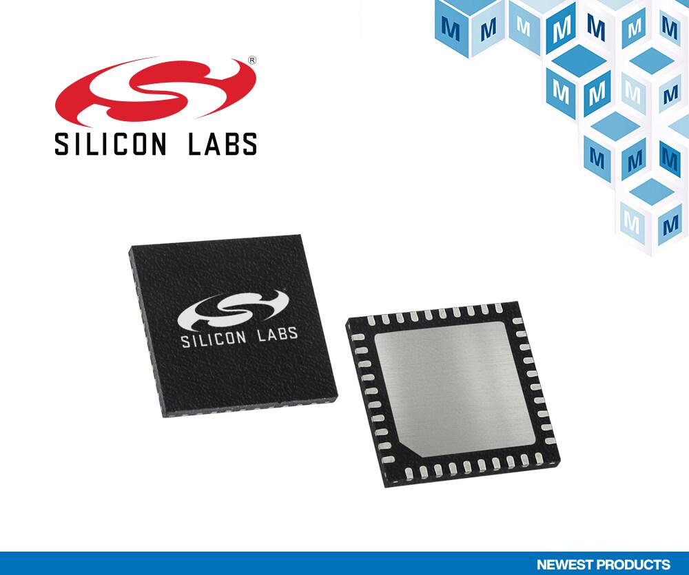Silicon Labs EFM32PG22 微控制器在贸泽电子开售