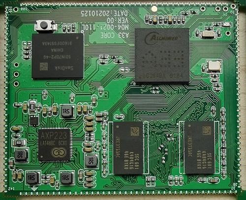 我爱方案网上线A33物联核心板方案 可为平板电脑及带显示屏产品提供动力