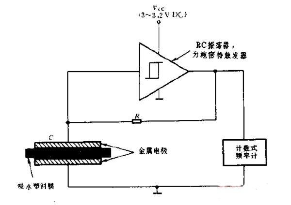 低成本湿度传感器电路图