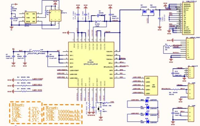 "SW6008 TYPE C口3A带数码管移动电源SOC单芯片——用户""菲诺克科技""撰稿"