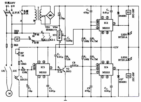 光电计数电路图原理简介