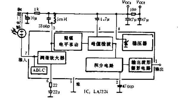 常见RF调谐放大器电路图B
