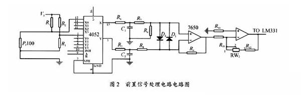 变压器温度智能监控仪电路模块设计