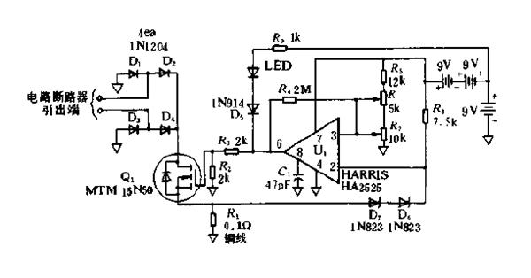 高速电子电路断路器电路图