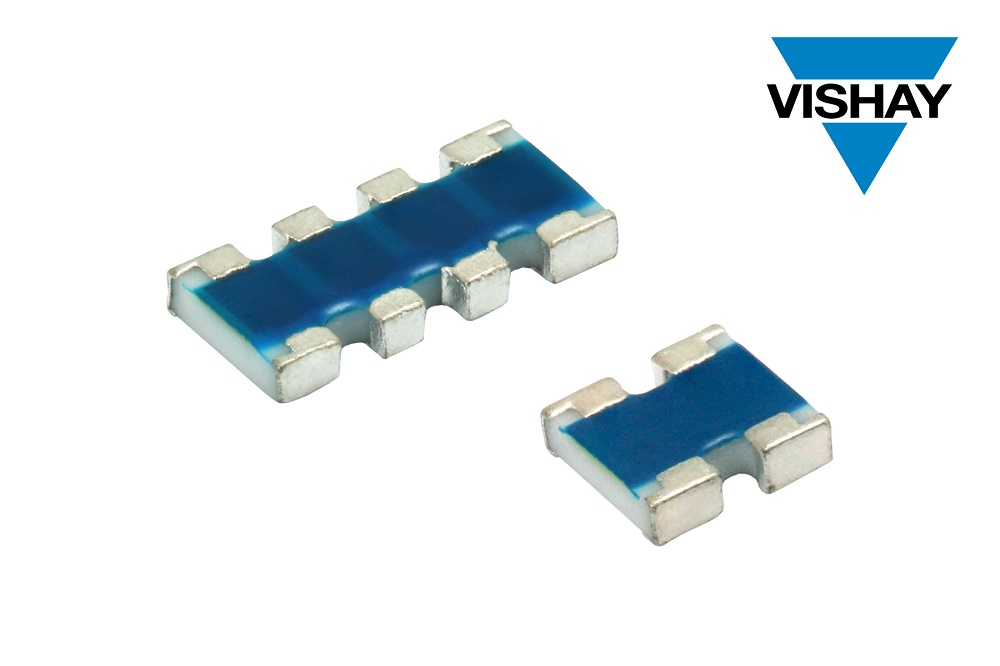 Vishay推出新款高阻值比、高工作电压ACAS AT精密汽车级薄膜片式排阻
