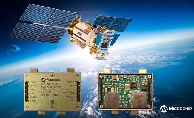 Microchip 推出基于 COTS 的宇航级抗辐射电源转换器