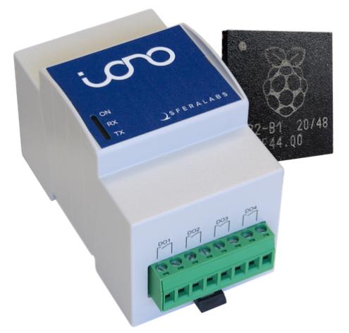 SferaLabs新推出的工业I/O模块首次采用树莓派MCU